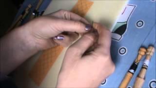Encaje de Bolillos: como hacer el nudo del tejedor