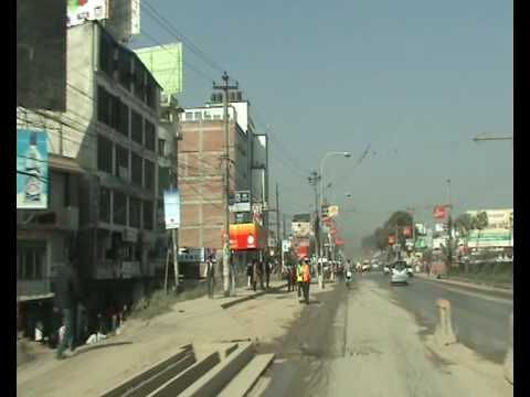 Just another day at work – Driving to our Javra Software office in Nepal Kathmandu