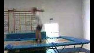 Me Trampolining - Lazy Back Cody Trampoline