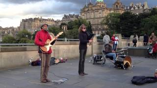 """The """"Spinning Blowfish"""" rock out with hardcore bagpipe action in Edinburgh"""