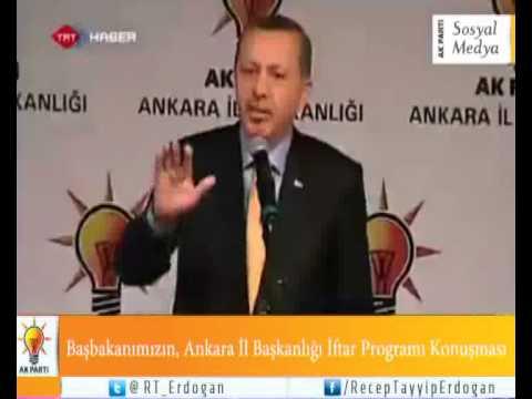 Başbakanımızın, Ankara İl Başkanlığı İftar Programı Konuşması