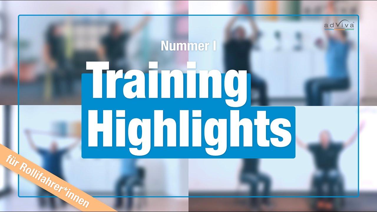 Workout für Rollifahrer*innen - Highlights
