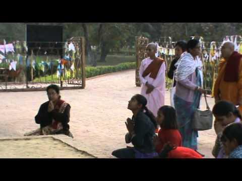 Sopaka Bhantejyu Lumbini Nepal to India Travel dec2010 46