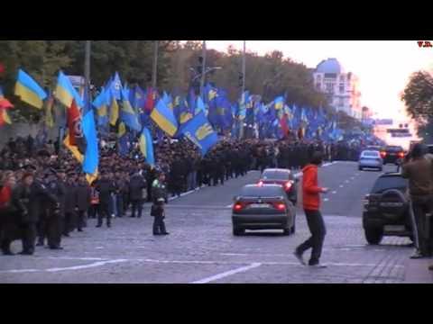 Марш УПА 14.10.2010 Київ, Україна
