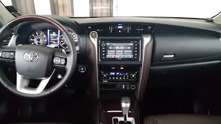 2018 Toyota Fortuner - Full View Dash Board and Instrument Panel width=