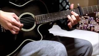 Zero no Tsukaima ~Futatsuki no Kishi~ OP - I Say Yes guitar cover (solo)