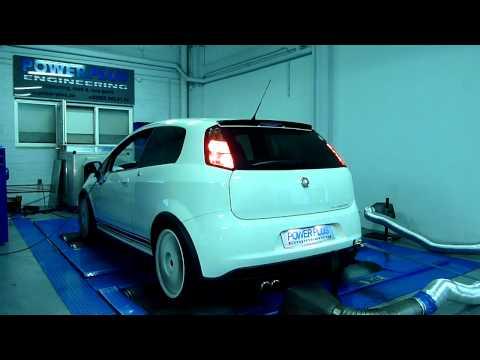 Belles & Brutales dyno day @ Power Plus Engineering - Fiat Grande Punto Abarth Esseesse