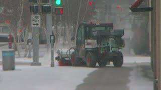 Law Enforcement, Transportation Officials Prepare For Winter Storm