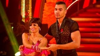 Louis Smith & Flavia Cacace Samba to 'La Bomba' - Strictly Come Dancing 2012 - Week 5 - BBC One