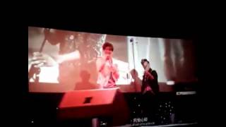 "LUHAN❤鹿晗❤ 我是证人 ""虫儿飞"" (the witness Luhan singing ""chong Er fei"")"