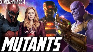 Celestials & Avengers Endgame Equal X-Men in Phase 5 - Scarlet Witch A Mutant in WandaVision?