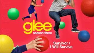 Survivor _ I will Survive - Glee [HD Full Studio]