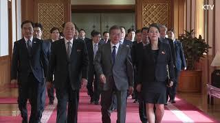 북한 평창 올림픽 대표단 방남에서 청와대 방문까지 (풀버전)