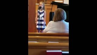 Klaire church solo