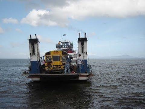 Nicaragua Bus broke down