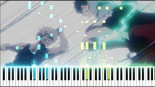 "Boku no Hero Academia Season 3 OST - ""Deku VS Kacchan"" | You Say Run V3 (Synthesia Piano Tutorial)"