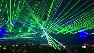 Qlimax 2015   Atmozfears Intro (Epic Lasershow)