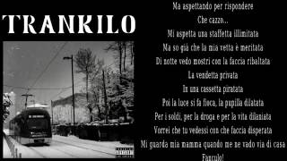 Trankilo - Vegas Jones feat  Nitro TESTO