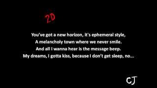 Gorillaz - Feel Good Inc. (feat. De La Soul) [lyrics]