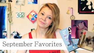 September Favorites - Jessi, Ho Goo, Boots & more   Monthly Faves