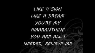 Amaranthe-Amaranthine (Lyrics)