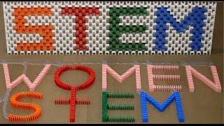 Women in STEM! (11,000 Dominoes)