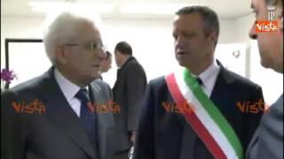 MATTARELLA ARRIVA A VINITALY ACCOLTO DA ZAIA E TOSI