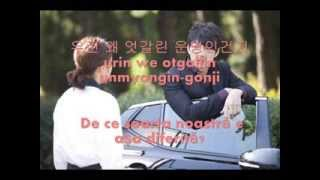 F.I.X  - Afraid Of Love ( Romanian subs+Hangul+Romanization )