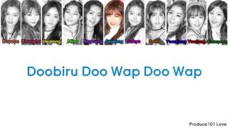 IOI ~ Doo Wap Color Coded Lyrics (Han/Rom/Eng)