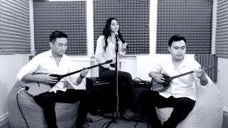 Супер песня Jah Khalib   Лейла dombyra cover by Made in KZ