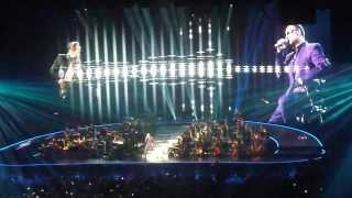 George Michael 'Symphonica' LG Arena Birmingham 16.09.12 'fab SAX solo' cowboys & angels
