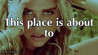 Blow - Ke$ha Lyrics