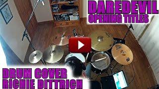 Daredevil Soundtrack (TV Series) | Marvel's Daredevil - Opening Titles - Drum Cover