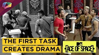 MTV Ace Of Space Has It's First Task | Drama & Fights Begin | Pratik Gets Into A Fight