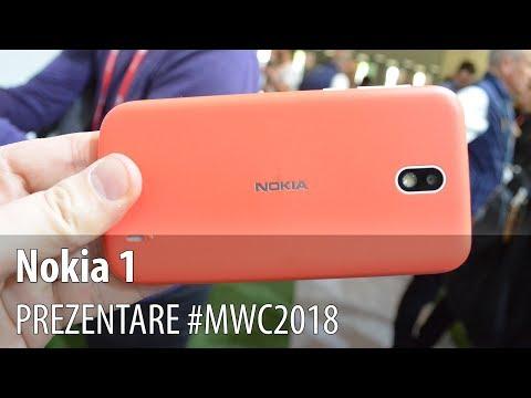 Nokia 1 - Prezentare hands-on
