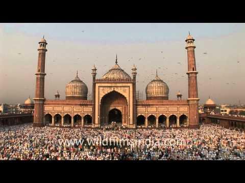 Eid in Jama masjid