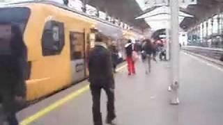 Para a próxima apanho mesmo o comboio!