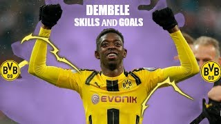 "Ousmane Dembélé ● Skills, Assists and Goals ● ""Swang"" By Rae Sremmurd Music Video"