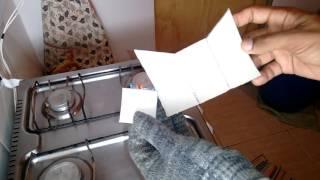 Como Cortar Chapa em PVC  (Tesoura Comum).