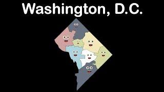 Washington, D.C./Washington, D.C. Geography./Washington, D.C. Capital of the USA