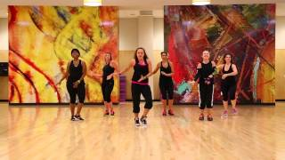 """Booty"" Jennifer Lopez ft. Pitbull - Zumba Choreography"