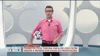 Neto analisa provocações entre Palmeiras e Flamengo
