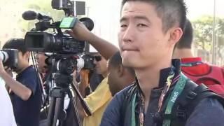 Presidente do COI visita local que vai abrigar a pira olímpica, no centro do Rio