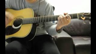 The Reason(Acoustic Ver.) - Hoobastank (Guitar Cover)