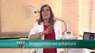 Efectos del solarium en la piel