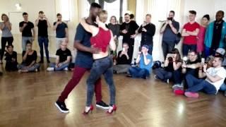 Curtis & Carola - urban kiz fundamentals @ Valentine festival Berlin 2017