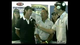 Juan Carlos Lucio Godoy y David Nalbandián en la final de la temporada 2012 del TC en La Plata