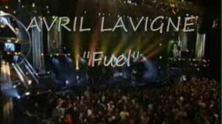 Avril Lavigne- Fuel (Metallica cover) + lyrics