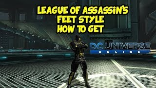 DCUO | League of Assassin's FEET STYLE Punchline Briefs PART-I
