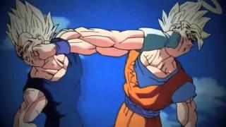 Dbz Goku vs Vegeta [amv] Warrior
